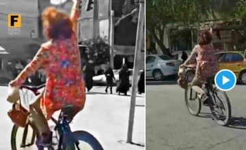 Cycling unveiled against patriarchy in Iran