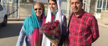 White Wednesdays activist Saba Kordafshari Released on Furlough